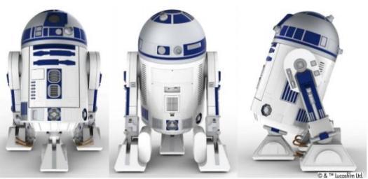 「R2-D2型移動式冷蔵庫」