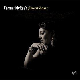 Carmen McRae(When Your Lover Has Gone)