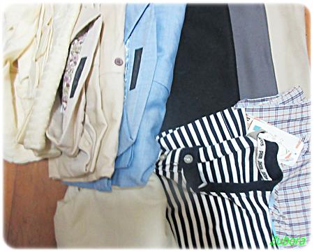通販で買って一度も着なかった服10着を捨てました。