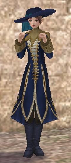 青のドレスコード