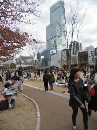 1 新天王寺公園から恵沢園への道
