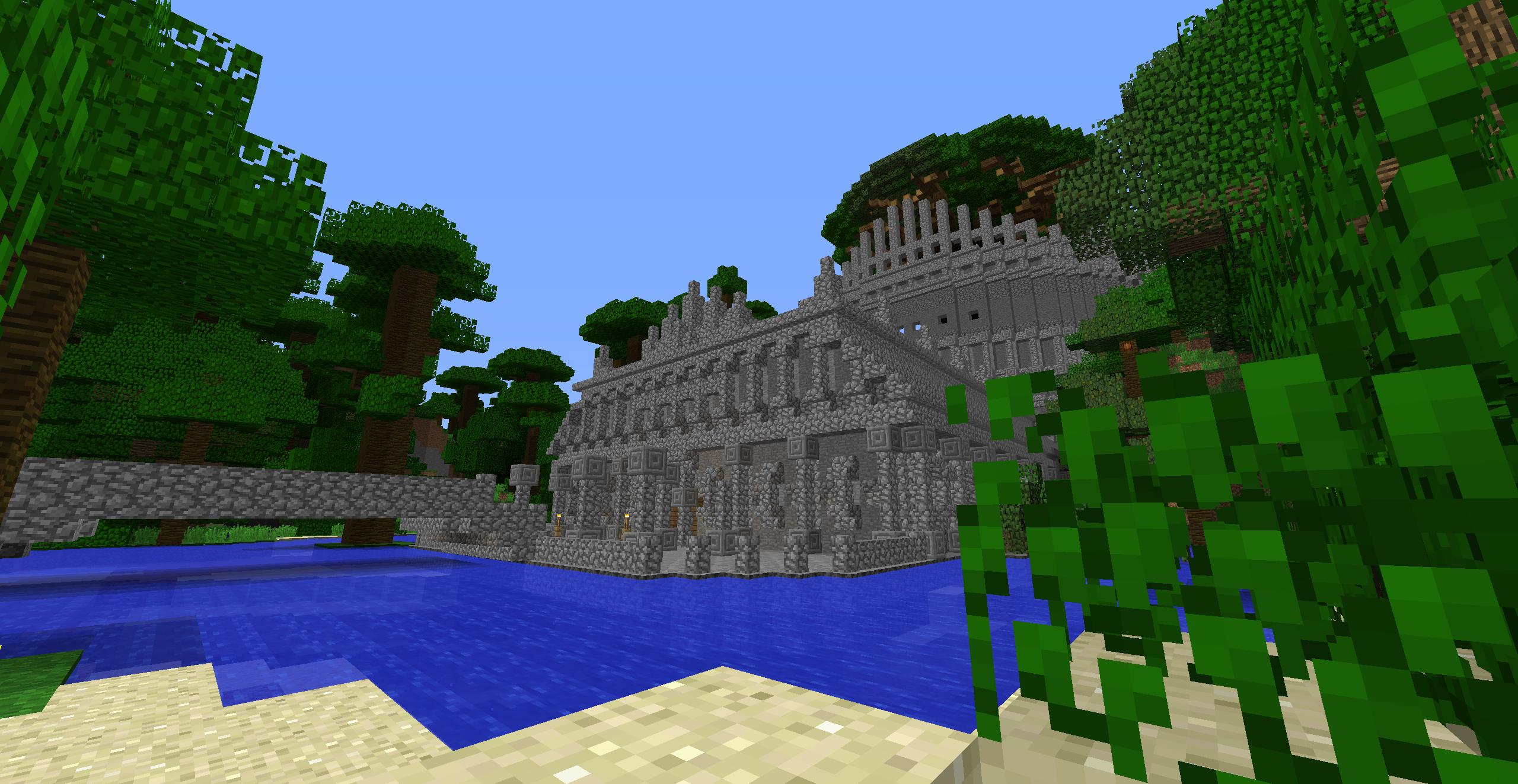 森の古代文明遺跡