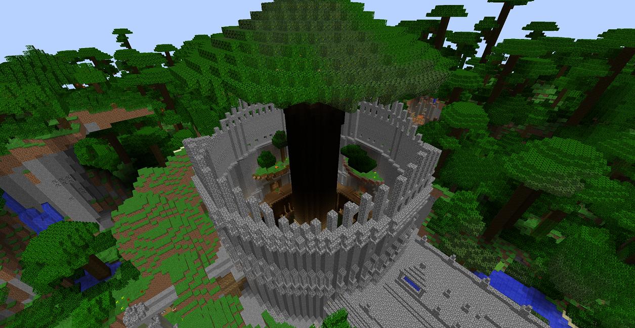 森の古代文明遺跡 (2)
