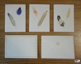 ミニカードセット Feathers  サイン