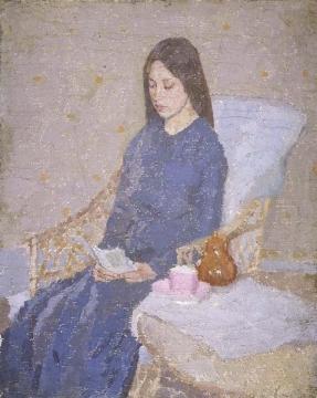 美術館 グウェン・ジョン 1876~1939 1924 convalescent病み上がり