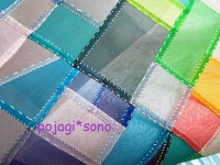 ぐし縫いと巻きかがり縫い ノバン