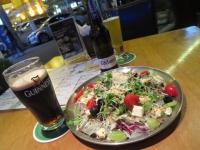 大邱 ビールとサラダで軽めの夕食