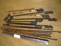 展示用の棒 黒竹