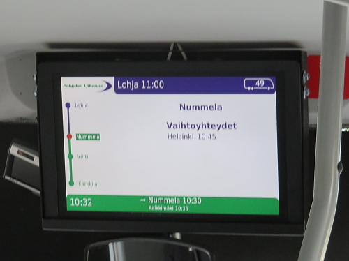 フィンランド バス