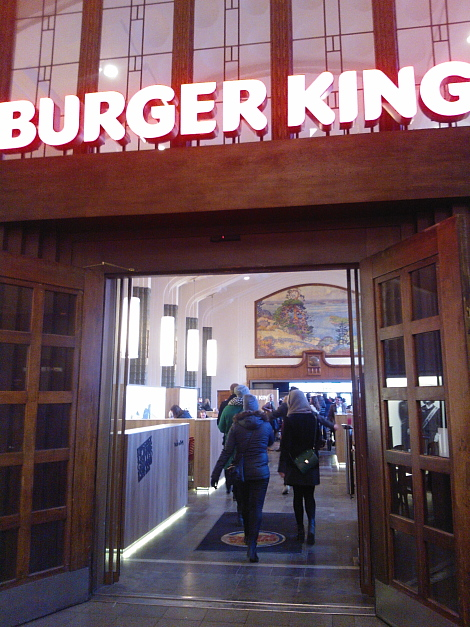 Burger King Helsinki Rautatieasema バーガーキング ヘルシンキ