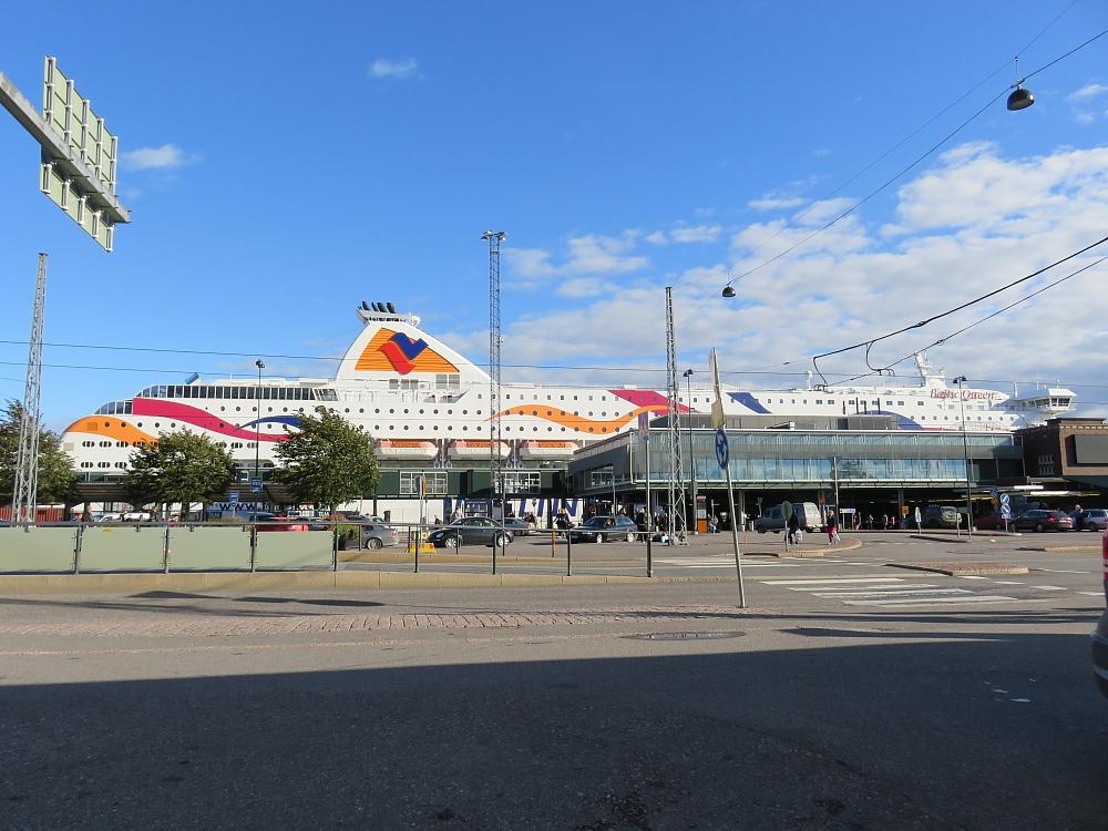 Baltic Queen Helsinki Länsisatama
