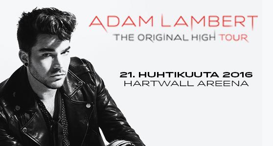 Adam Lambert TOH tour Helsinki