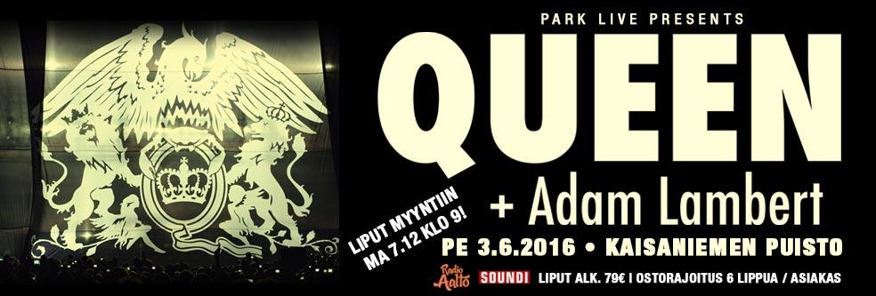 QAL Queen Adam Lambert Helsinki