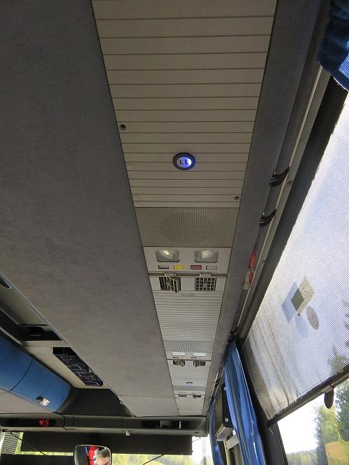 フィンランド バス USB差込口