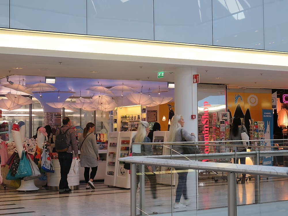 Muumin shop ムーミンショップ Forum Helsinki ヘルシンキ フィンランド