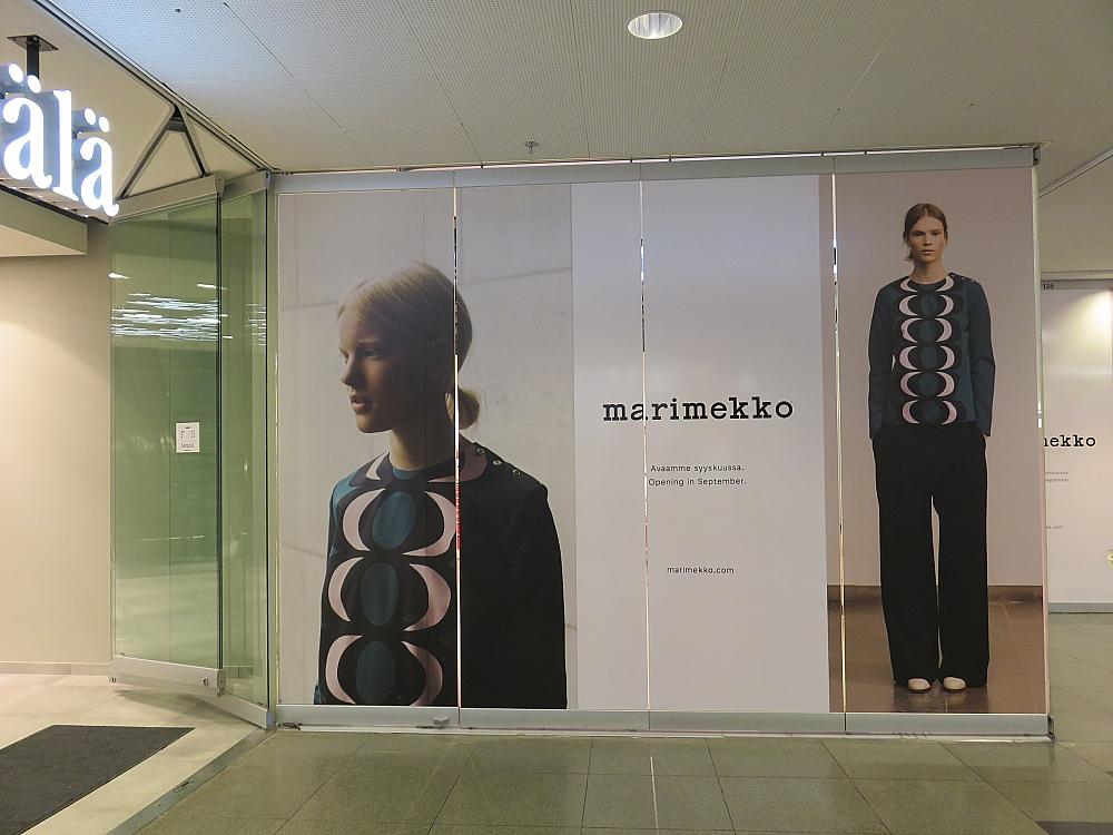 Marimekko Forum Helsinki ヘルシンキ フィンランド マリメッコ