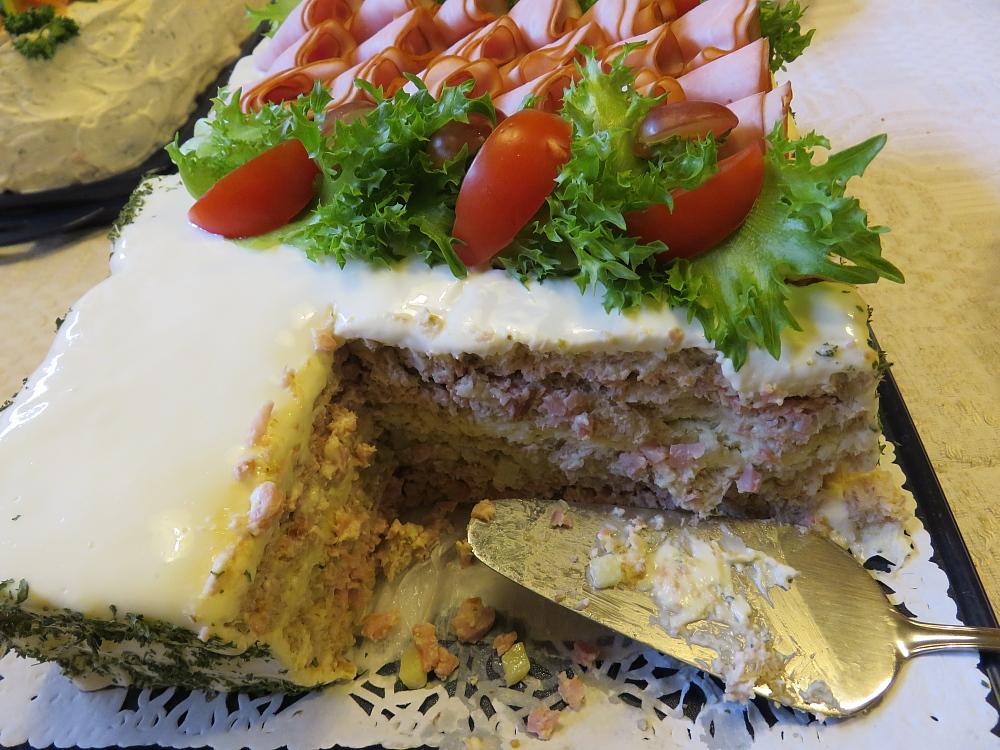 誕生日会 Birthday Party Juhla voileipäkakku