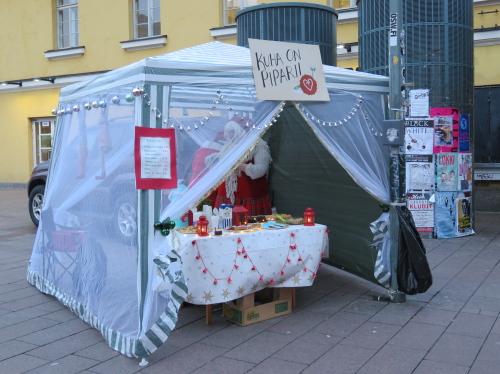 fンランド Kamppi ヘルシンキ レストランデー
