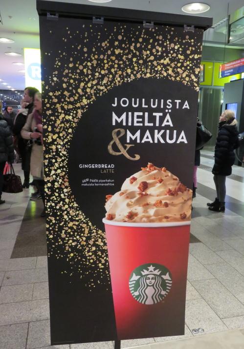 ヘルシンキ Kamppi スターバックス スタバ 季節限定
