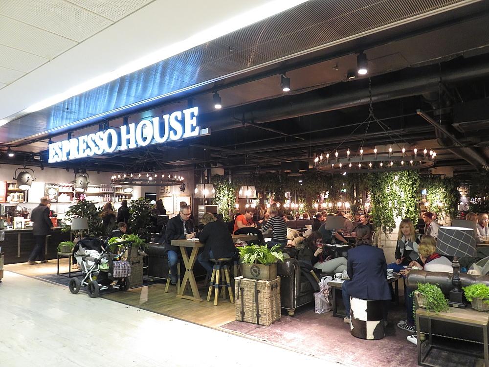 ヘルシンキ Kamppi コーヒーショップ