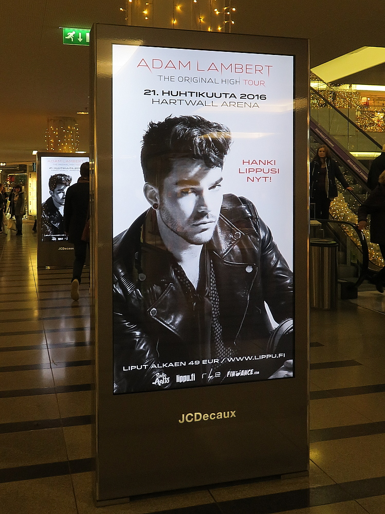Helsinki Forum Adam Lambert TOH Tour