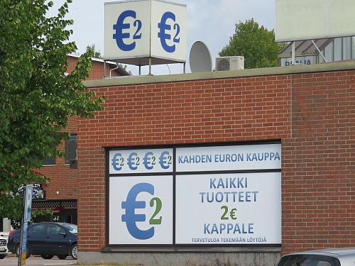 Nummela ヌンメラ フィンランド 2ユーロショップ