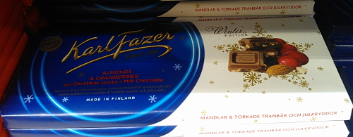 Fazer Suklaa ファッツェルチェコ フィンランド 季節限定