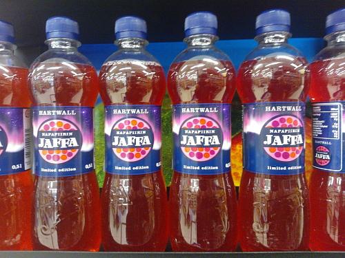 炭酸ジュース Napapiirin Jaffa