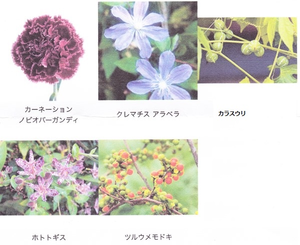 ニコライ花材