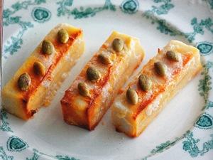 高野豆腐のスティックケーキ