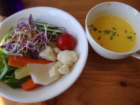 ランチ(サラダ&スープ)