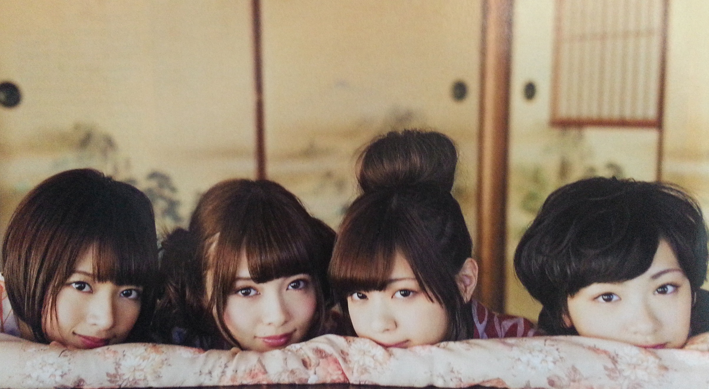 2013乃木坂美女4人