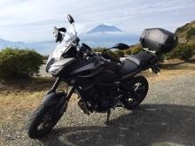 富士山と相棒