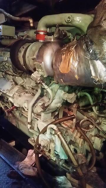 日産ディーゼルエンジンRD10V