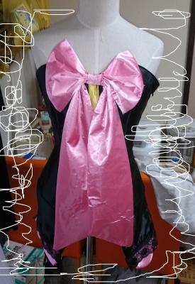 VOCALOID巡音ルカ「魔女っ娘style」の衣装製作画像