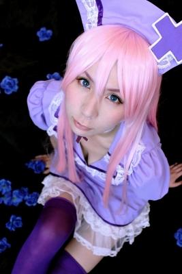 VOCALOID巡音ルカの恋色病棟衣装でのコスプレ写真。CURAS川崎にて撮影
