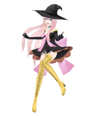 VOCALOID巡音ルカ「魔女っ娘style」の参考資料