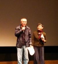ホウ・シャオシェン監督(左)