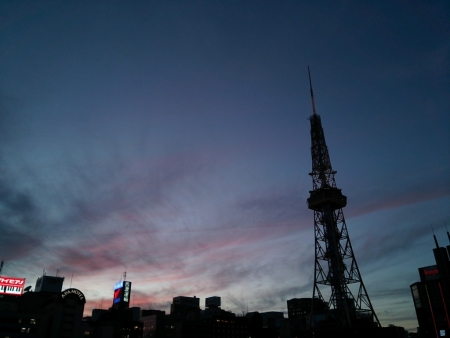 名古屋夕暮れ