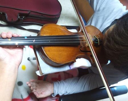 バイオリン台2