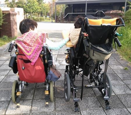 2台の車椅子
