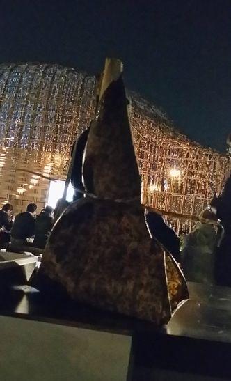 竹の皮のおむすび