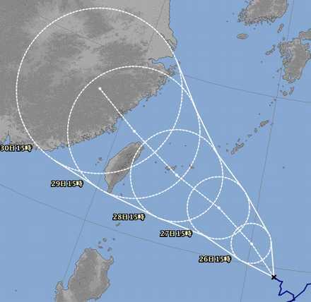 台風21号 3