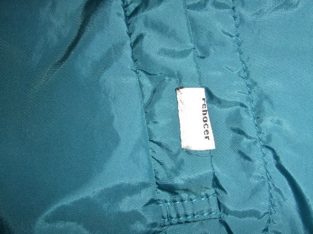rehacer Wrinkle Zip Coat blue ft5
