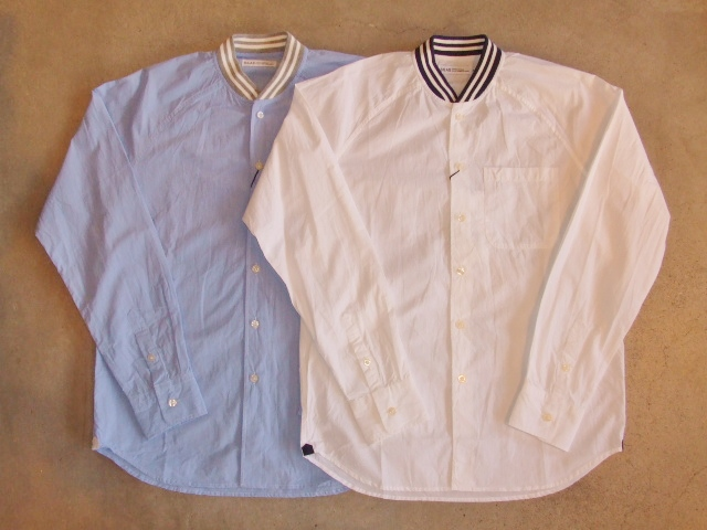 SILAS RIB COLLAR SHIRT