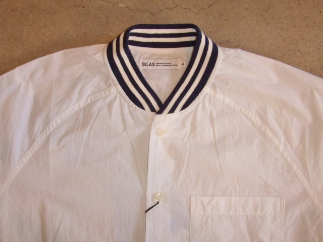 SILAS RIB COLLAR SHIRT WHITE FT1