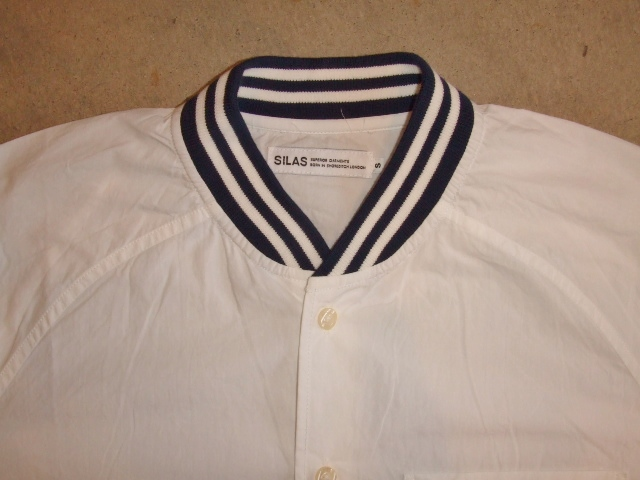 SILAS RIB COLLAR SHIRT WHITE FT2