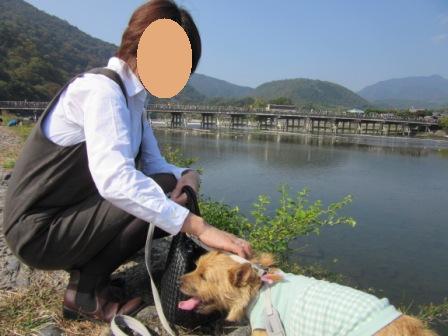 IMG_3351うりママと嵐山 - コピー