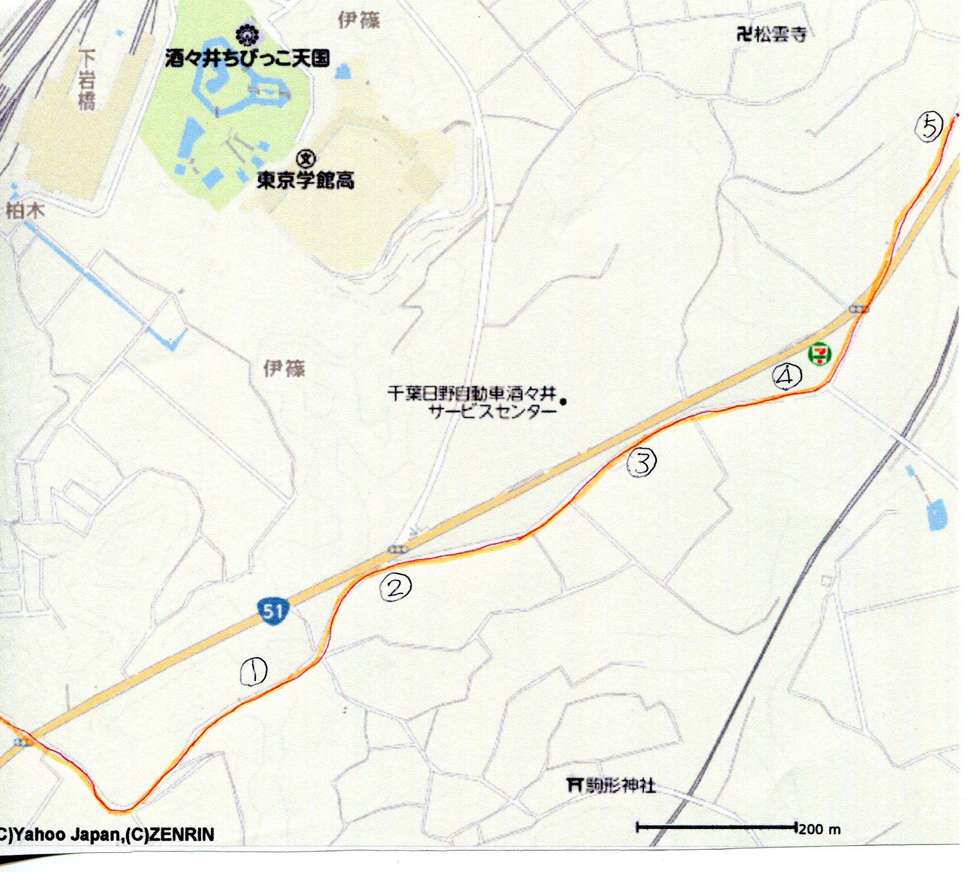成田街道マップー2