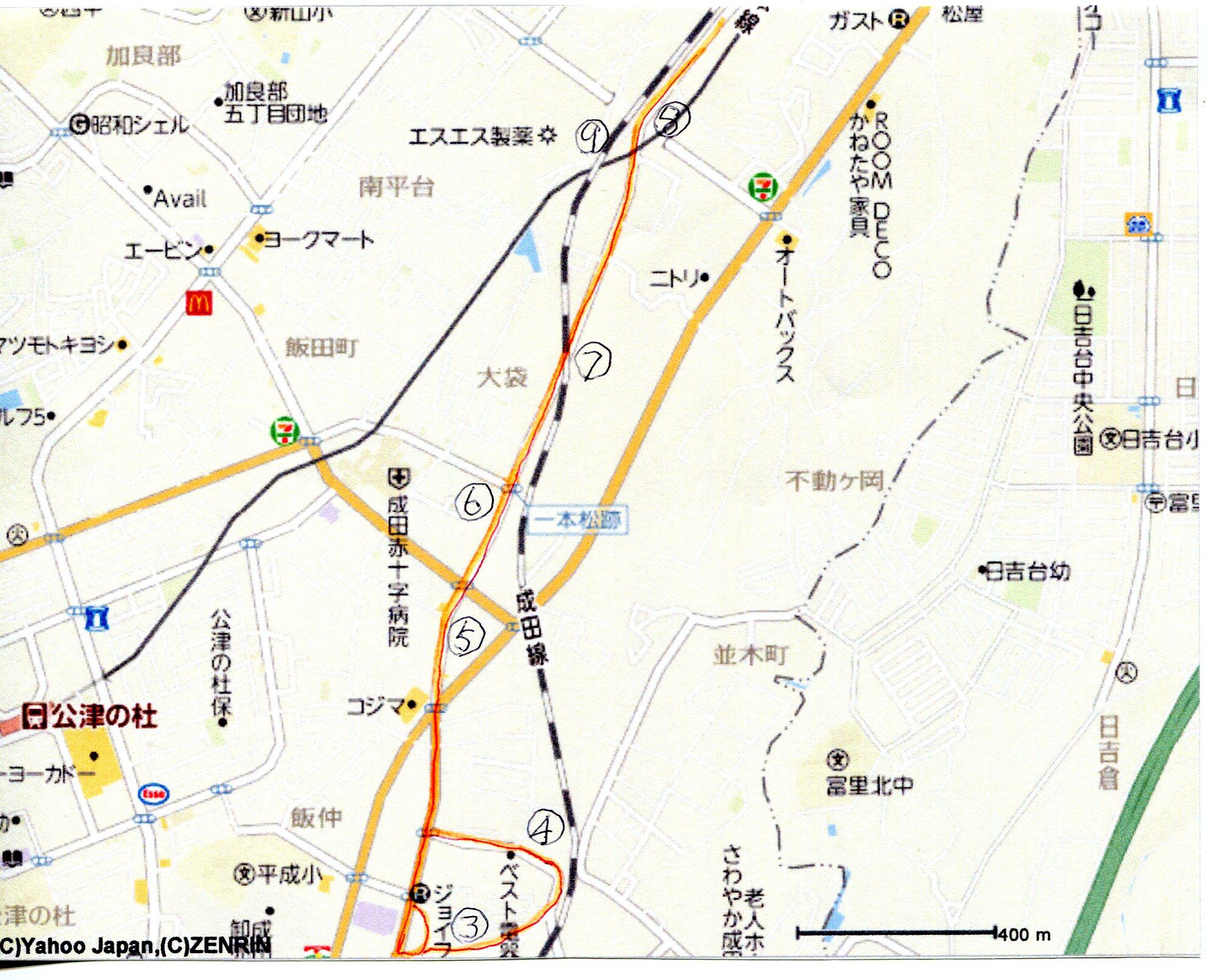 成田街道マップー5
